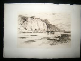 Amand Durand after George Reid 1885 Heliogravure. Culzean Castle